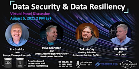 Data Security & Data Resiliency tickets