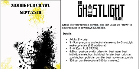 GhostLight's 2nd Annual Zombie Pub Crawl tickets