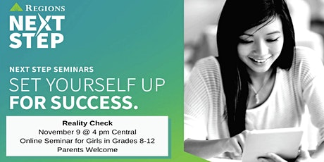 Banking for Students: Reality Check, presented by Regions tickets