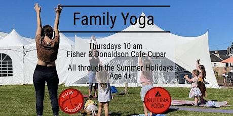 Family Yoga tickets