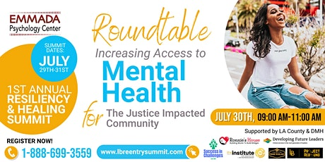 Mental Health...Increasing Access tickets