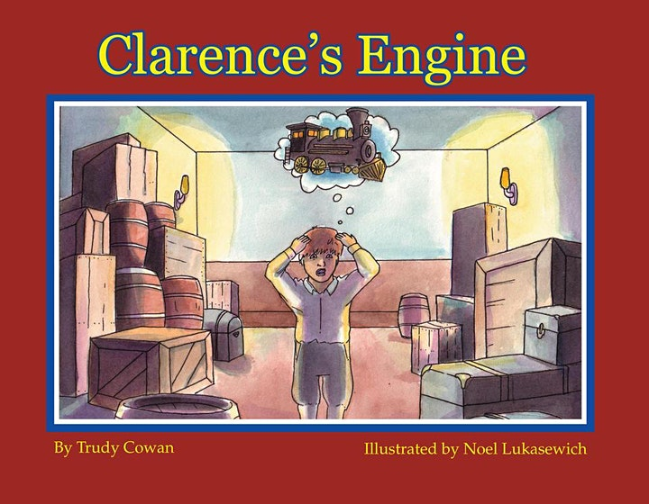 """Public Reading - """"Clarence's Engine"""" by Trudy Cowan image"""