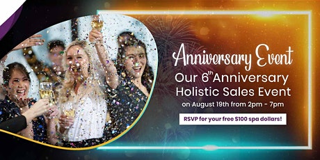 6th Anniversary Holistic Beauty Sales Event tickets