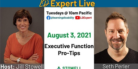 LD Expert Live!- Executive Function Pro Tips tickets