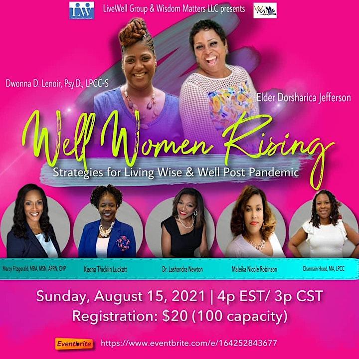Well Women Rising Seminar & Workshops image