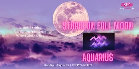 Sturgeon Full Moon- Spiritual Circle [FREE] tickets
