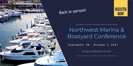 Northwest Marina & Boatyard Conference, presented by Marine Floats tickets