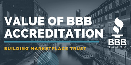 Value of BBB Accreditation tickets