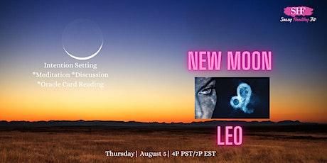 New Moon in Leo - Spiritual Circle [FREE] ingressos