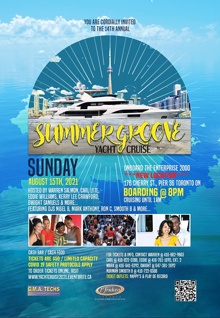 .:::Summer Groove Yacht Cruise 2021:::. image