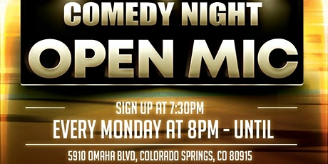 Competitive Open Mic Comedy winner receives a $15 gift card to IVP tickets