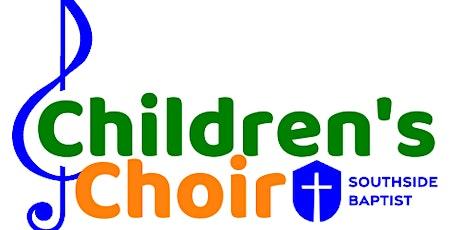 Children's Choir with Dane & Cindy 2021-22 tickets