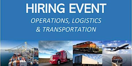 Operations, Logistics, & Transportation Employment  Event tickets