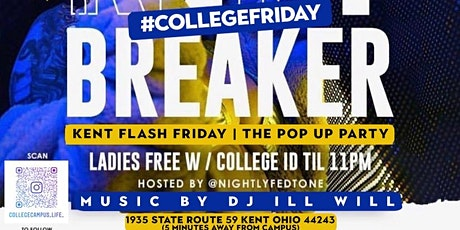 KENT STATE FLASH FRIDAY POP UP BREAKER tickets