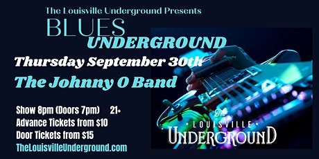 The Johnny O Band : Blues Underground tickets