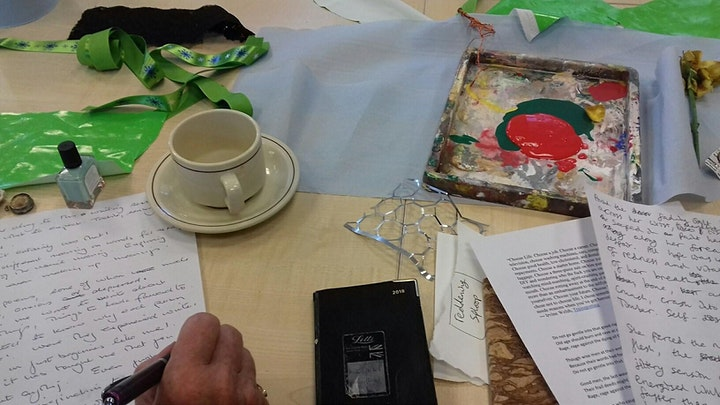 Arts Alive - Autumn workshop - Writing with Senses and Colours image