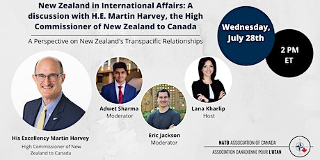 The Future of Transpacific Cooperation: A New Zealand Perspective tickets