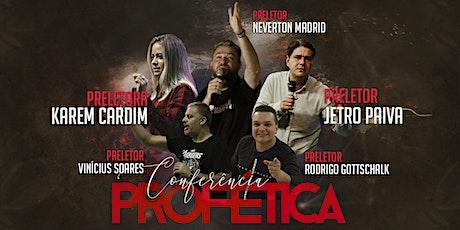 Conferência Profética - IIG ingressos
