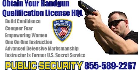 Handgun Qualification License Class HQL July 31st 2021 $125 tickets