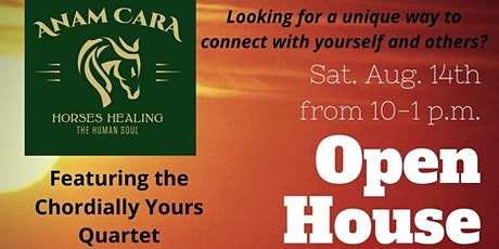 Anam Cara Open House - featuring Chordially Yours Quartet tickets