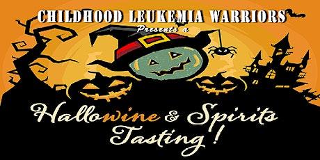 Childhood Leukemia Warriors HalloWine Tasting tickets