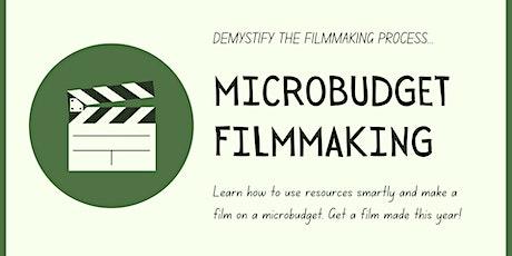 Microbudget Filmmaking Class tickets