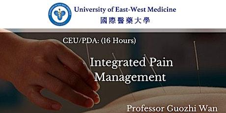 万国志教授主讲痛症综合管理--CEU/PDA Course: Integrated Pain Management tickets