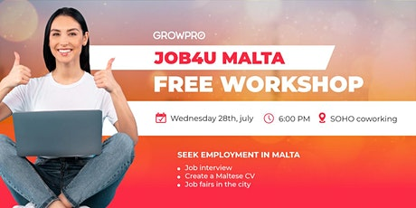 JOB4YOU MALTA tickets
