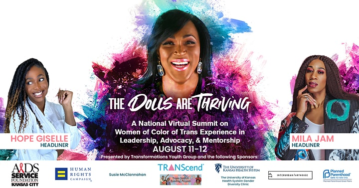 The Dolls Are Thriving: A National Virtual Summit on Trans Women of Color image