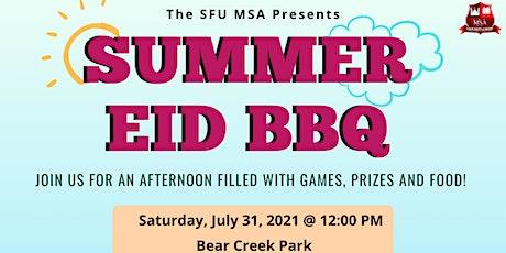 SFU MSA  Eid Al Adha BBQ tickets