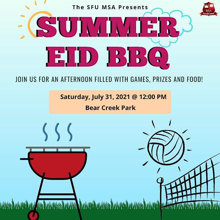 SFU MSA  Eid Al Adha BBQ image