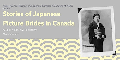 Stories of Japanese Picture Brides in Canada tickets