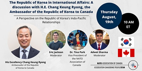 The Future of Indo-Pacific Cooperation: A Korean Perspective tickets
