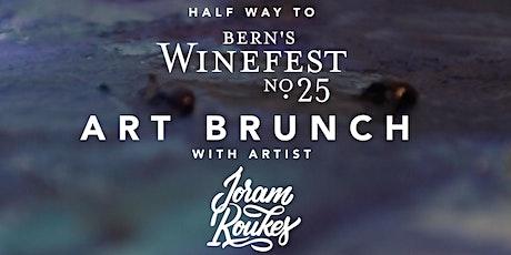 Halfway to Bern's Winefest Art Brunch Ticket for Two tickets