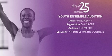 Deeply Rooted Dance Theater: 2021 Youth Ensemble Audition tickets