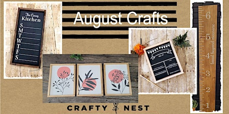 August 12th  Public Workshop at The Crafty Nest  - Whitinsville tickets