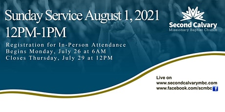 12 PM Worship Service tickets
