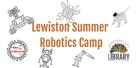 Lewiston Summer Robotics Camp tickets