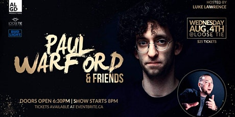Paul Warford Live @ Loose Tie (ft. special guests) tickets