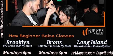 Beginner Salsa Class in the Bronx tickets