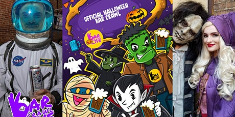 Official Halloween Bar Crawl | Charlotte, NC - Bar Crawl LIVE! tickets