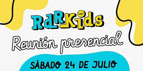 Rdr Kids (Hasta 7 años) entradas