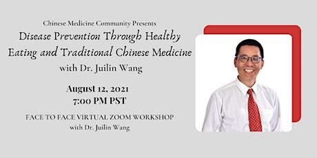 Disease Prevention Through Healthy Eating and Traditional Chinese Medicine tickets