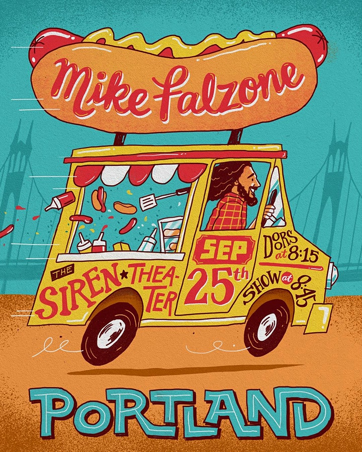 Mike Falzone LIVE in Portland image