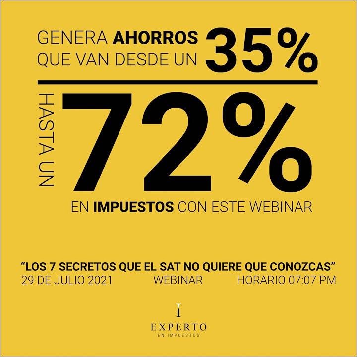 LOS 7 SECRETOS QUE EL SAT NO QUIERE QUE CONOZCAS image