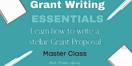Grant Writing Essentials Master Class tickets
