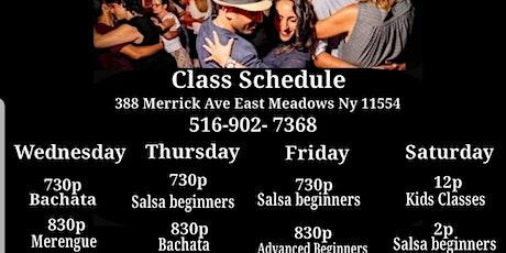 Long island Beginner Salsa Class tickets