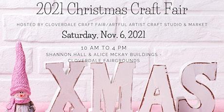 2021 Christmas Craft Fair  Nov. 6, 2021 tickets