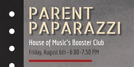 HoM Parent Paparazzi Meeting tickets