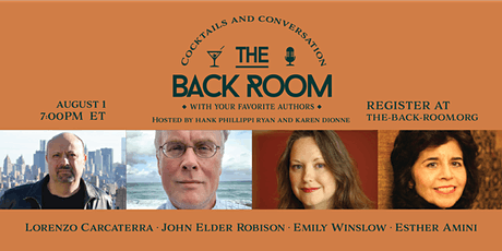Esther Amini, Lorenzo Carcaterra, John Elder Robison, and Emily Winslow tickets